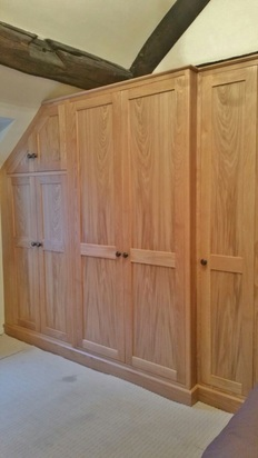 Bespoke Oak Bedroom, Audlem, cheshire.