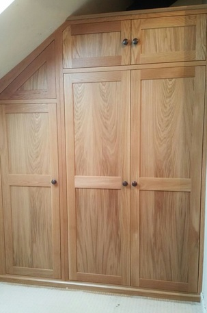 Bespoke Oak Bedroom, Audlem, Cheshire
